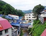 湯川温泉 新清館に格安で泊まる。